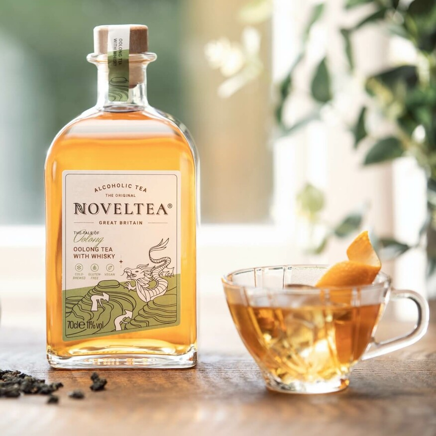 Oolong Tee mit Whisky